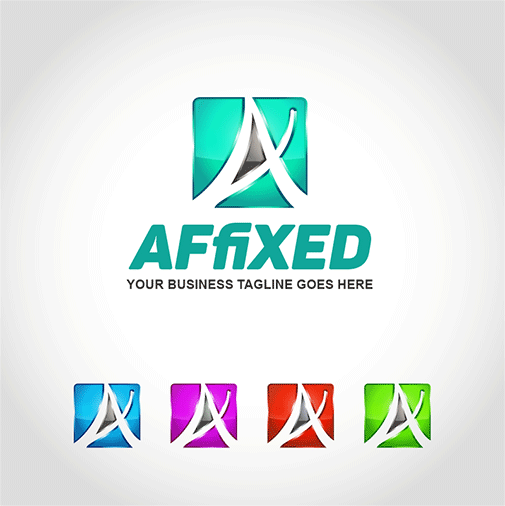 affixed-logo-template