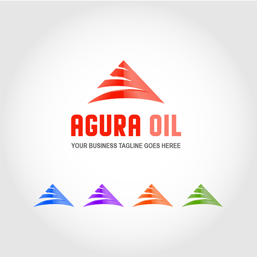agura-oil-logo-template