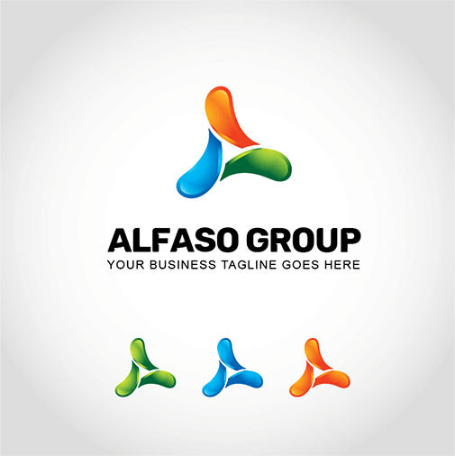 alfaso-group-logo-template
